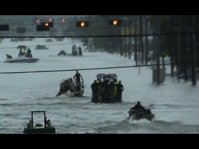 Houston under water