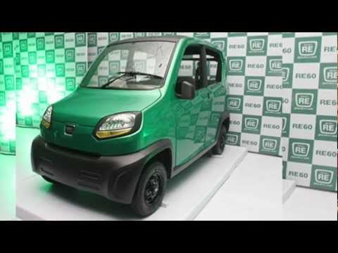 2012 Bajaj RE-60 200 cc 20 cv 70 kmh 35 kml 400 kg