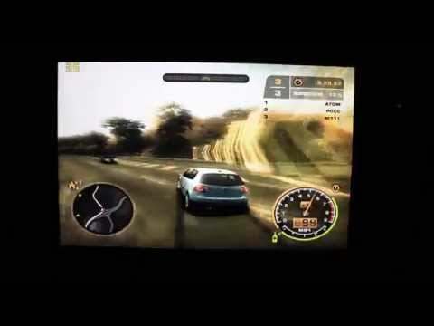 Need for speed Most Wanted на планшете Windows 8.1 Pipo W3 intel Bay trail z3775