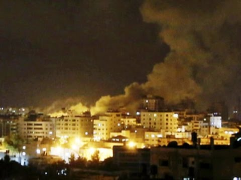 Israeli airstrikes hit Hamas targets after rocket attacks