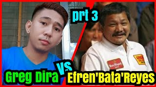 Part 3   Efren 'Bata' Reyes VS. Greg Dira 55k R21 @ YBC GRAND HOTEL OLONGAPO CITY
