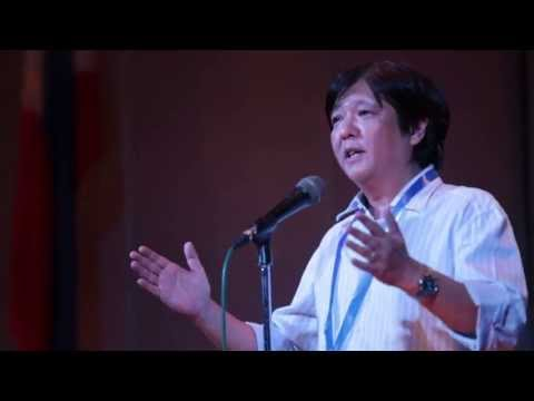 Sen. Bongbong Marcos - Q and A after speech during CEU's History Week 08-Aug-2013)