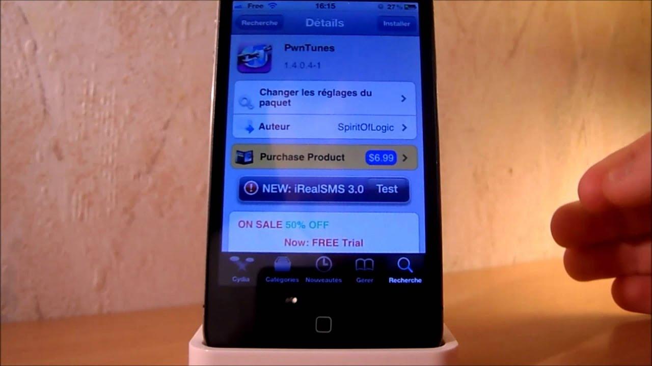 pwntunes ajouter des musiques sans itunes sur iphone ipod et ipad youtube. Black Bedroom Furniture Sets. Home Design Ideas