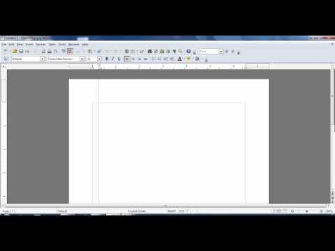 Basic APA formatting in Open Office.mp4