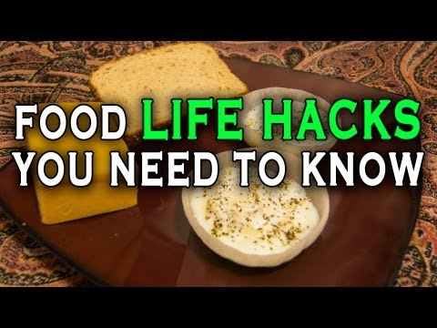 10 Incredible Food Life Hacks you need to know.