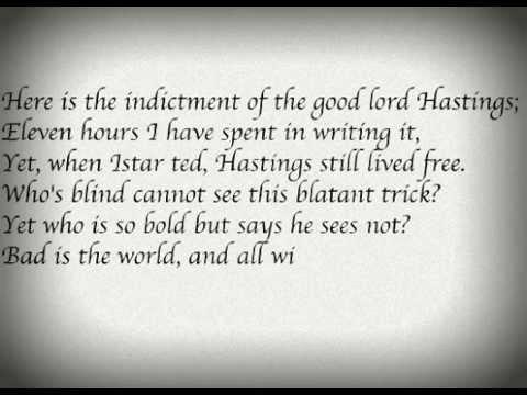 richard the third scrivener