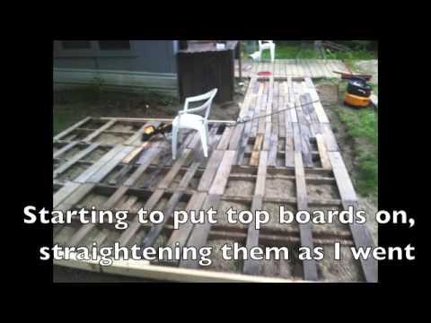 Pallet Deck Youtube