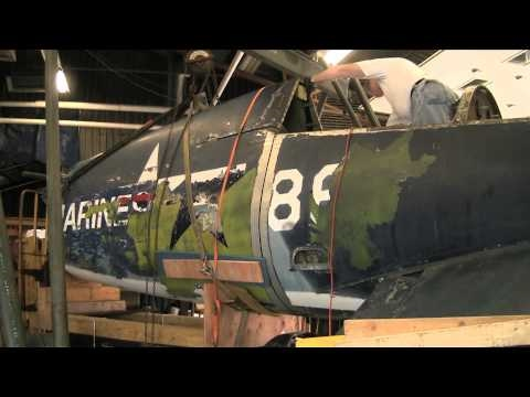 Stratford F4U Corsair Fuselage Split