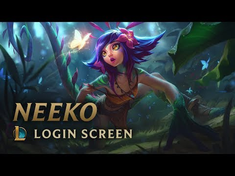 Neeko, the Curious Chameleon | Login Screen - League of Legends