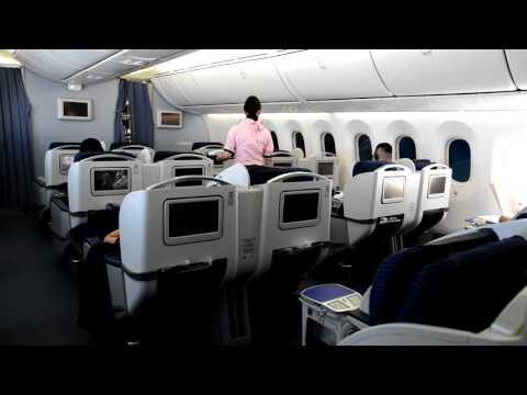 ANA 787-8 Business Class Beijing Capital to Tokyo Narita
