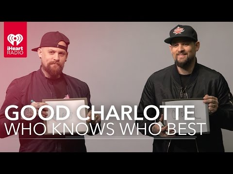 Benji & Joel Madden (Good Charlotte) Play Who Knows Who Best