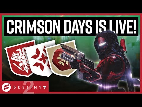 Destiny 2 - Crimson Days is Awesome! Event Tour & Loot! // Weekly Reset Guide