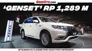 Mitsubishi Outlander PHEV 2019, Bisa Jadi Genset Berjalan | First Impression | GridOto