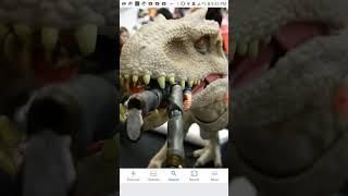 New indominus Rex toy from Mattel