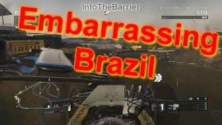 F1 Game 2016 - Embarrassing Brazil