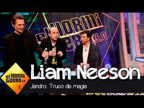 ¿Se puede matar a Liam Neeson? - Magia con Jandro - El Hormiguero 3.0