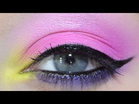 Lime Bubblegum Makeup Tutorial