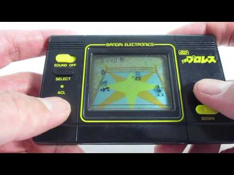 17020 Bandai LCD Game Digital The Pro Wrestling made in Japan