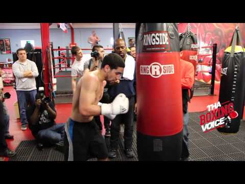 Danny Garcia Lamont Peterson Garcia Looking Strong  In Camp
