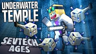 Minecraft - UNDERWATER TEMPLE - SevTech Ages #55