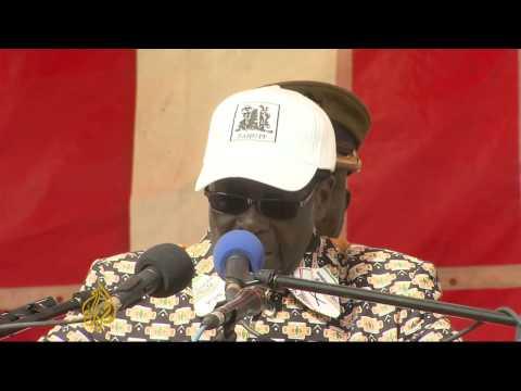 Zimbabwe's Mugabe kicks off election campaign