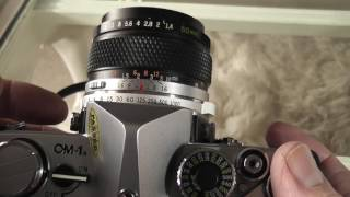 Olympus OM-1n 35mm Film Camera Review / Overview