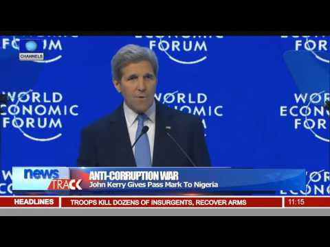 John Kerry Lauds Buhari's Anti Corruption Fight 240116