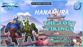 Grubby | Heroes of the Storm 2.0 - The Lost Vikings - High Level Team League - 2017 S1 - Hanamura