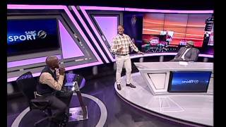 Shampoonizer  entertains sport@10 - Thomas Mlambo and BBK
