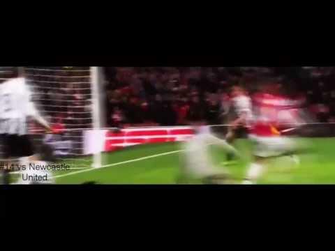 Theo Walcott All Goals for Arsenal Season 2012-13