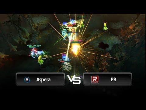 Aspera vs PR Teamwipe @ Starladder 8