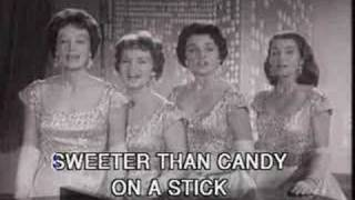 Watch Chordettes Lollipop video