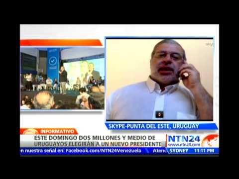 Profesor de máster en consultoría política analiza en NTN24 el panorama electoral en Uruguay