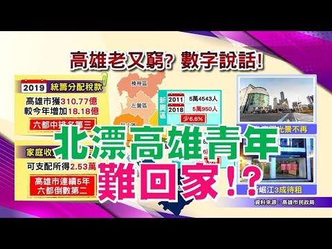 台灣-國民大會-20181105 韓國瑜說的高雄又老又窮是真的!? 北漂高雄青年難回家? 地價大降小漲?