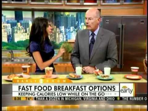 Tanya Zuckerbrot MS, RD on CBS - Healthy Fast Food Breakfast Options