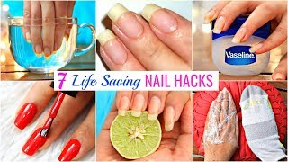 7 Life HACKS To GROW NAILS Fast & Strong | #Beauty #DIY #Remedy #Anaysa