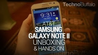 Galaxy Note II Unboxing & Hands On (AT&T)
