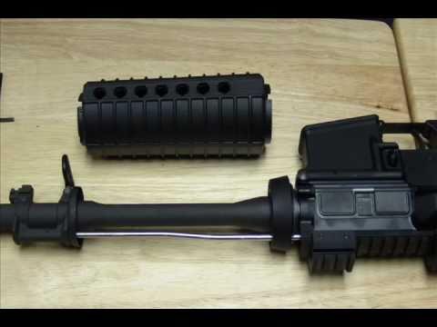 AR15 UTG Quad Rail U416S Model 4/15 - GunNook.com