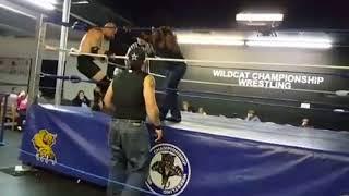 WildCat Championship Wrestling, March 11th 2017. Joker Jones vs Omega.