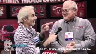The Doc talks to Motorcraft at AutoWares Show