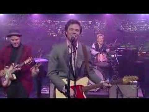 Josh Ritter Returns to Letterman (To the Dogs or Whoever)