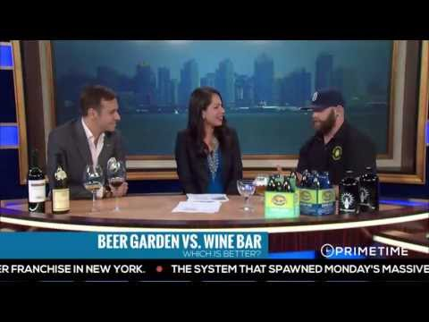 Beer Garden Vs. Wine Bar