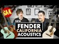 New Fender California Acoustic Series mp3