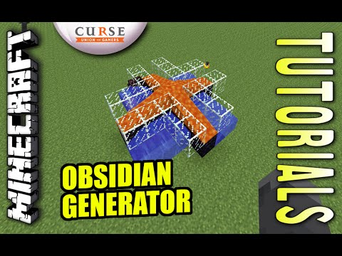 Minecraft PS4 - OBSIDIAN GENERATOR ( CLOVER ) How To - Tutorial ( PS3 / XBOX / PC ) TU21