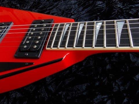 Em Metal Hard Rock Guitar Backing Track E Minor Practice Jam Along Song Eighties Style