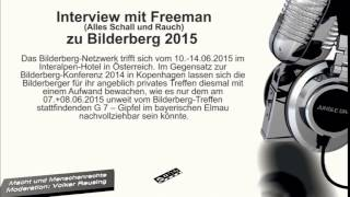 Interview mit Freeman zu Bilderberg 2015