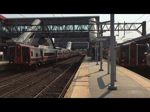 metro north railroad hd 60fps: bombardier m7a 4036's le