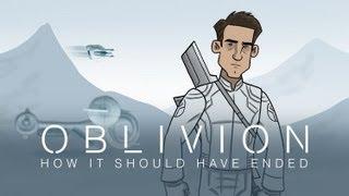 Como debió ser el final de Oblivion