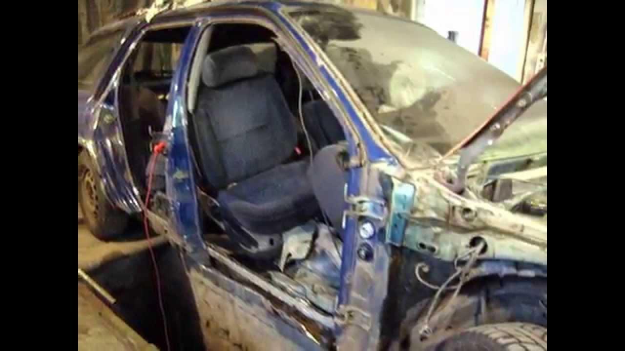 Замена порогов форд фокус 2 своими руками видео