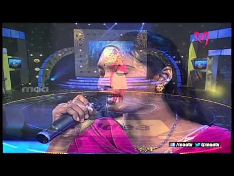 Super Singer 1 Episode 27 : Anjana Sowmya Performance ( Jabilli...